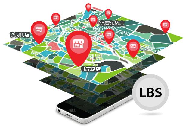 LBS门店定位