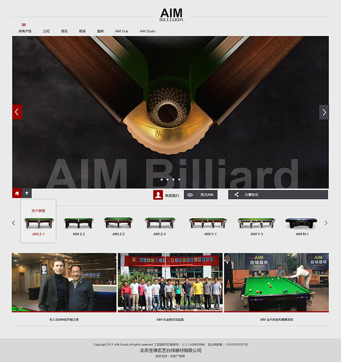 AIM品牌网站建设
