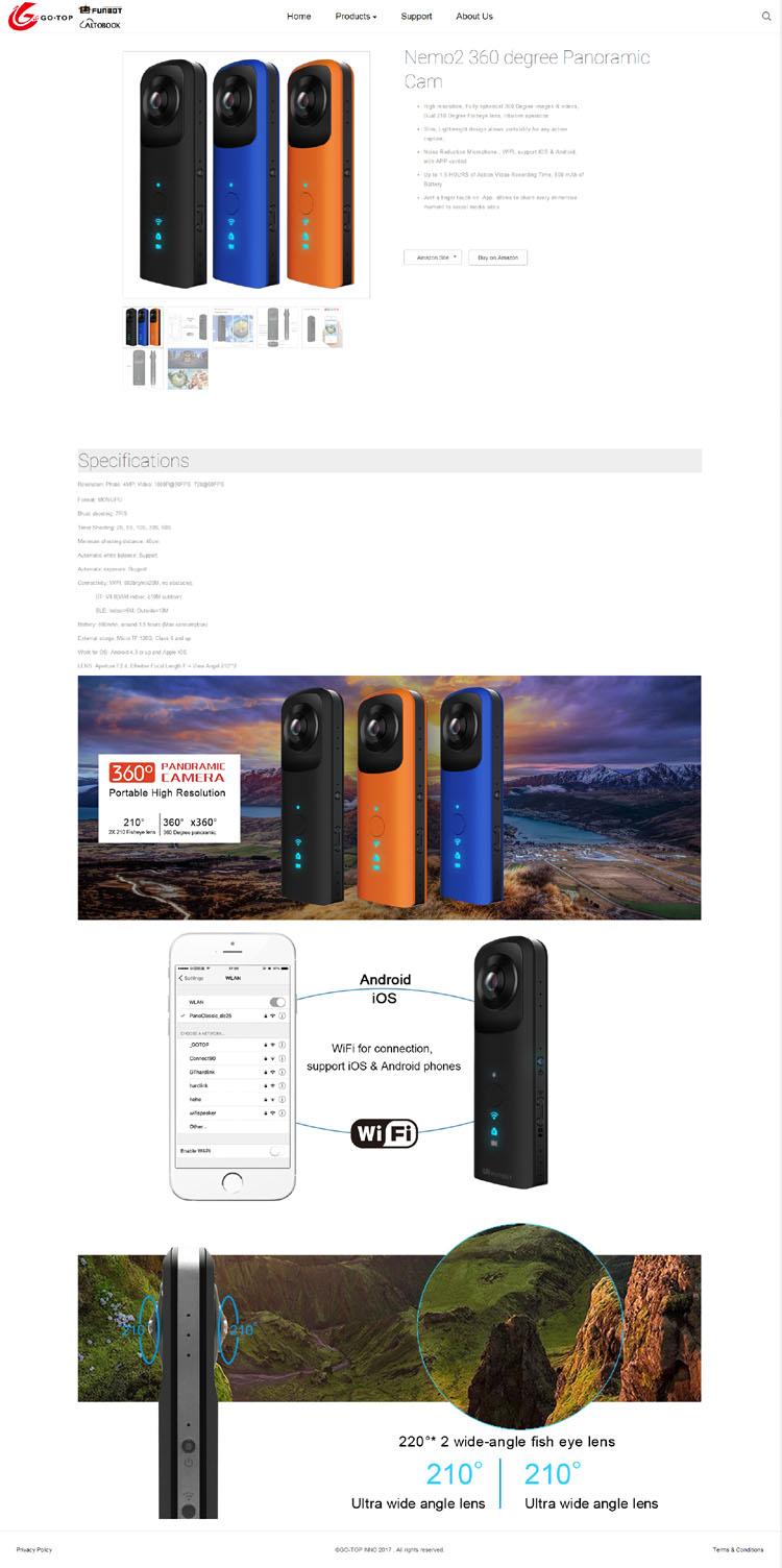 外贸网站设计产品详情页